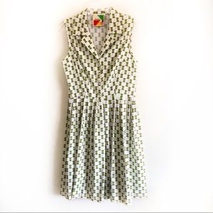 ModCloth fervour needle thread RARE A line dress